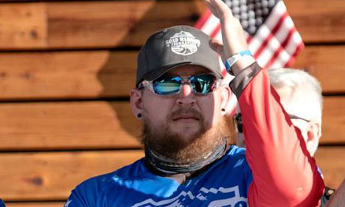 Jeremy served in the Army as an Infantrymen and was deployed to Afghanistan in October 2011 in support of Operation Enduring Freedom. In July 2012 he fell victim of Blue on Green attack when one of his Afghani counterparts opened fire on him and his comrades with a machinegun. He was shot a total of 13 times resulting in a single leg amputation, severe nerve damage in both arms rendering him incapable of walking with use of a walker and unable to utilize a wheel chair on his own. He also has lung issues from being shot and suffering collapsed lung. Jeremy is happily married and was recently presented with a Tank Chair by the Road Warrior Foundation.