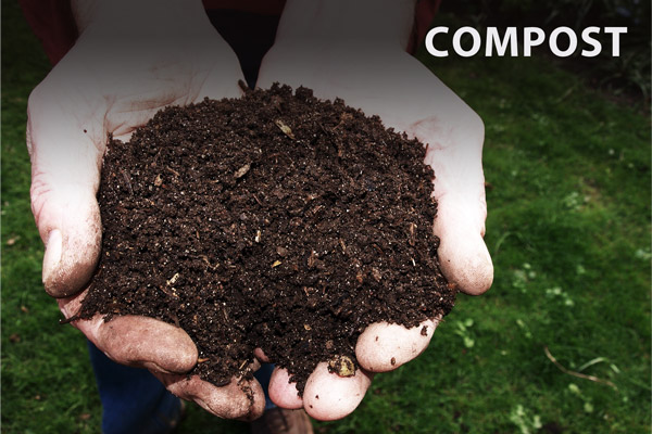 Multi-Purpose Deodorizer Usage: Compost