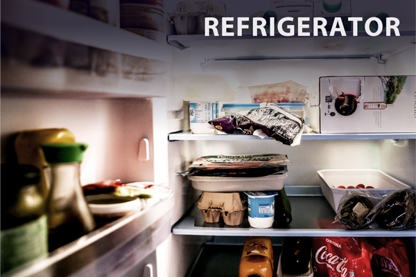 Multi-Purpose Deodorizer Usage: Refrigerator