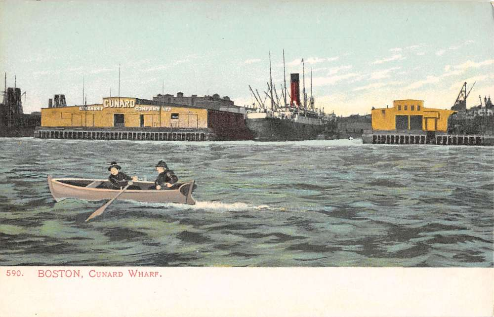Cunard Wharf, East Boston