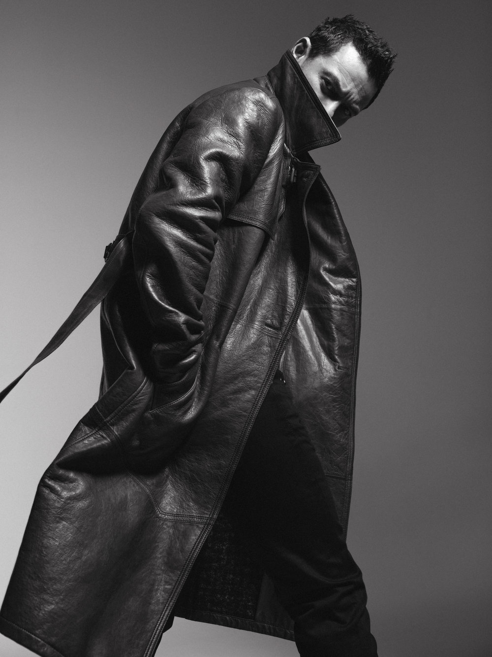 Luke Evans in Essential Homme