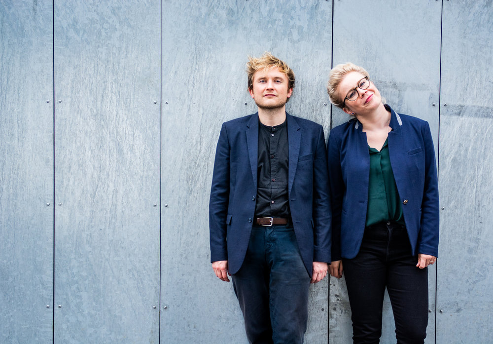 ENSEMBLE EDGE conductor//  Mathias Skaarup Sørensen &  ENSEMBLE EDGE artistic director and cellist //  Martha Marie Petri