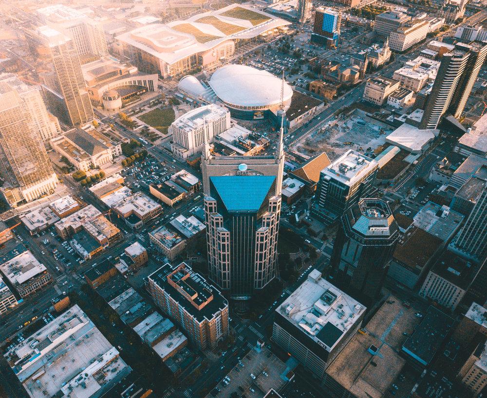 Nashville photograph of Batman Building