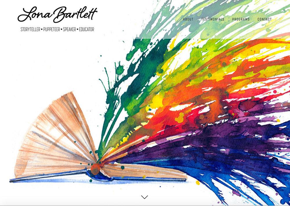 Lona Bartlett, Storyteller