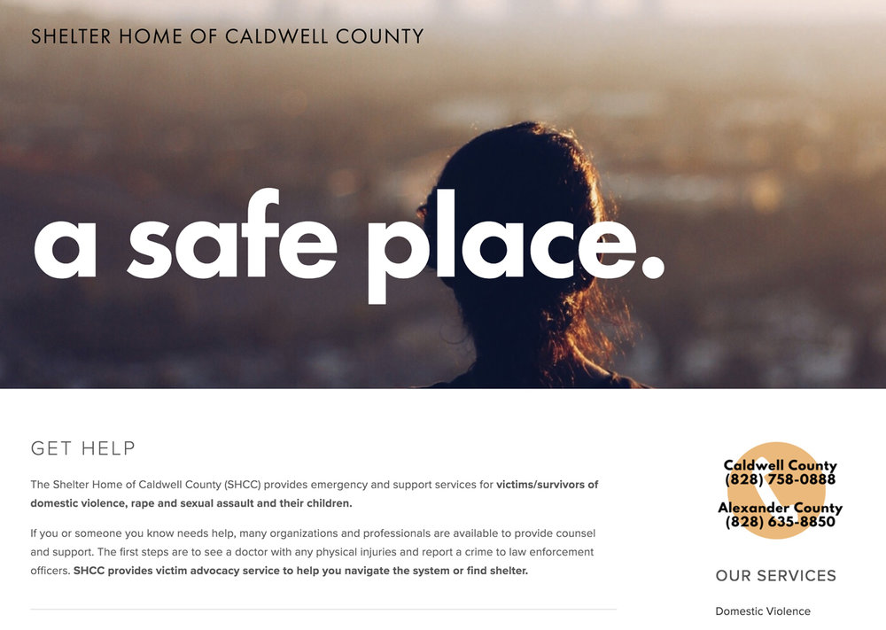 Shelter Home of Caldwell County
