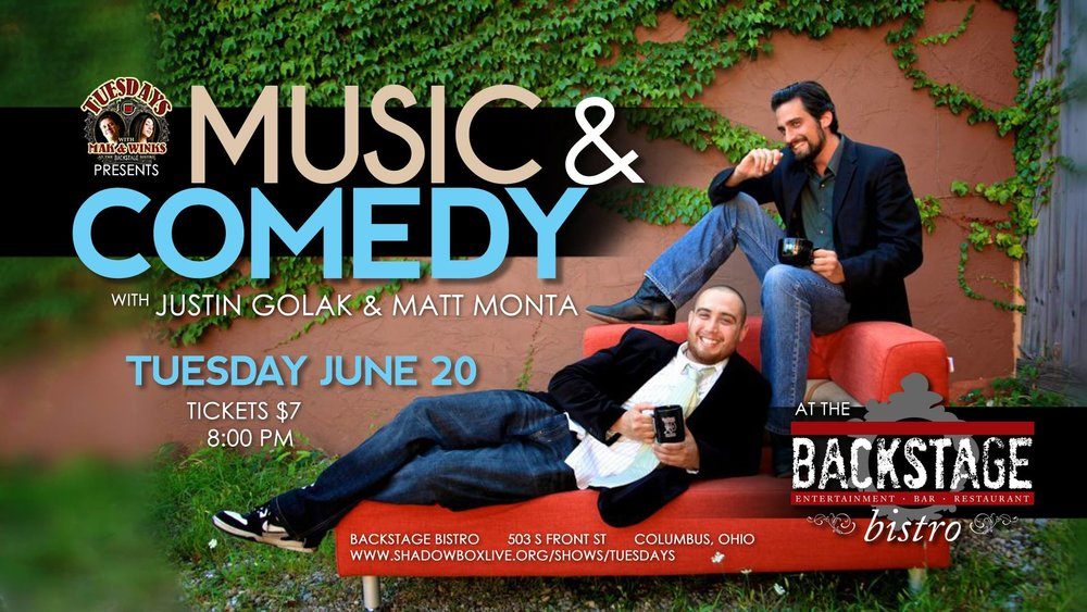 music and comedy at shadowbox