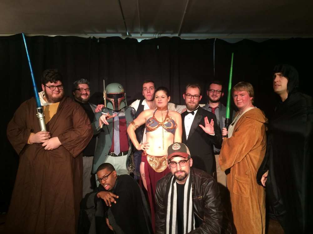 whiskey bear roast of star wars