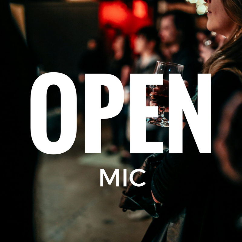 OPEN mic at bossy grrl