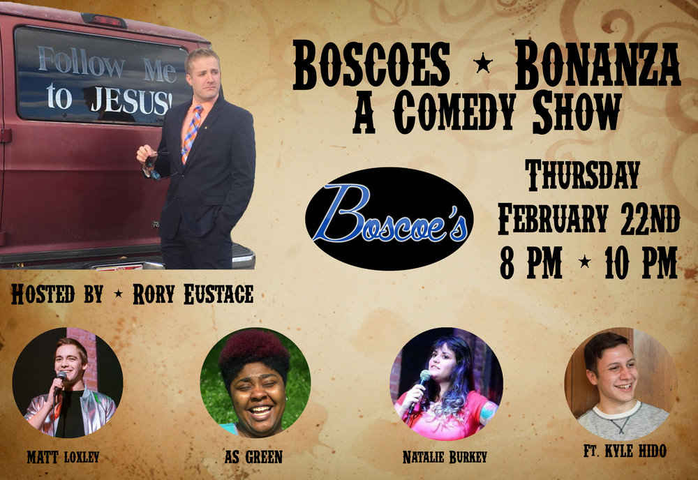 Boscoes comedy columbus laughs