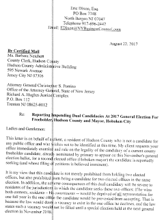 - Read the full letter obtained through OPRA request from the County