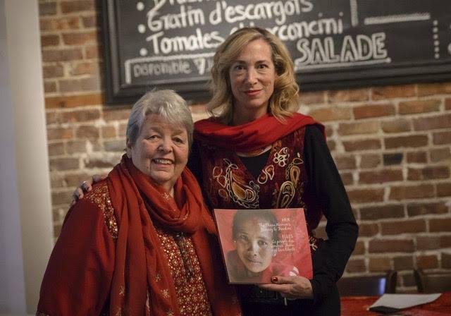 Author: Michelle Bonneau (left) Artist / Photographer: Julie Gascon (right)