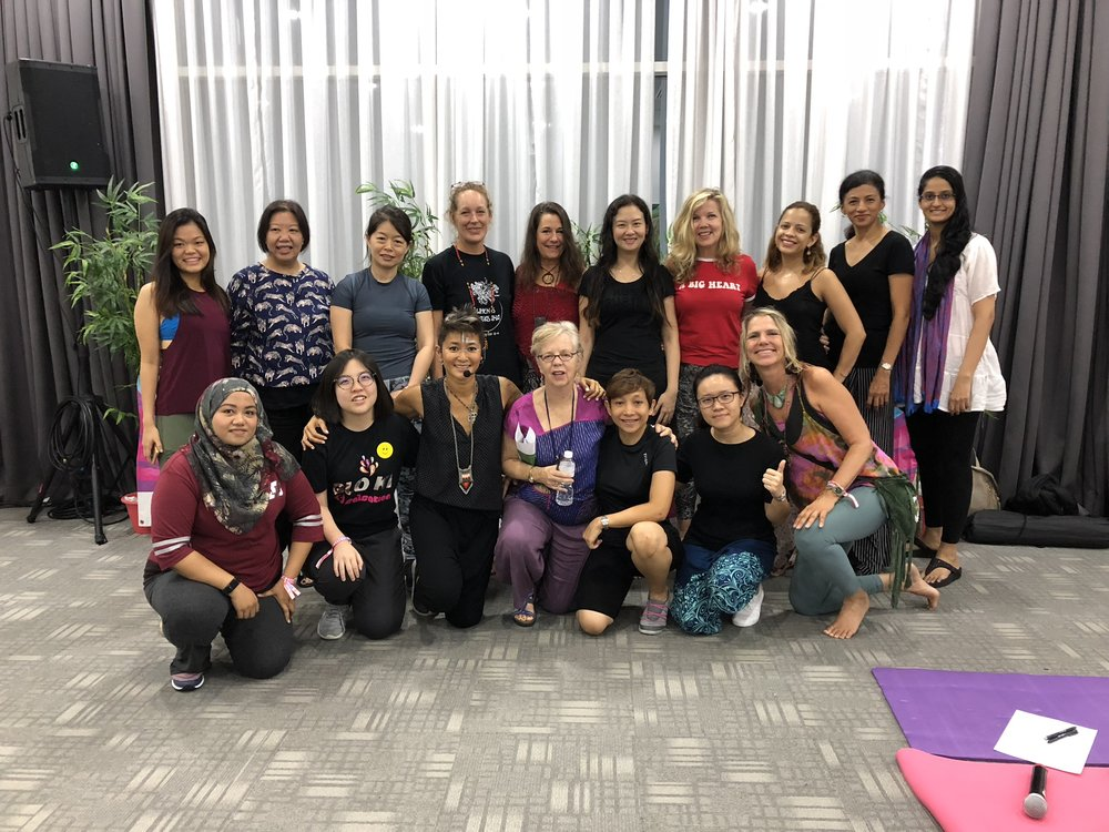 November 2018, Being Fearless Workshop, MURFest Malaysia - It works! A seamless blend of alchemical therapy & fun. Love Melissa's easy relaxed leadership in running workshops addressing Fear, Power, Change and Sovereignty. Great lasting results.- Gisele Lupi, Yoga Teacher, www.giselelupiyoga.com