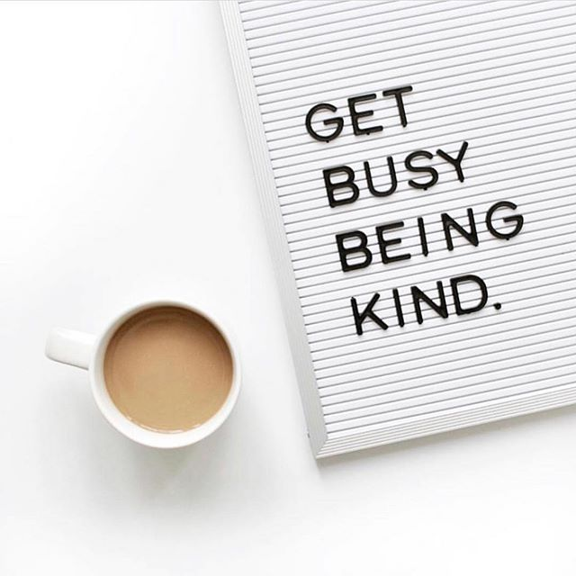 Simple, right?! Clients count too. When was the last time you were kind, not because your career required it, but b/c you genuinely wanted to fulfill someone's need and/or want? Let's chat! 📸: @letterboardquotes