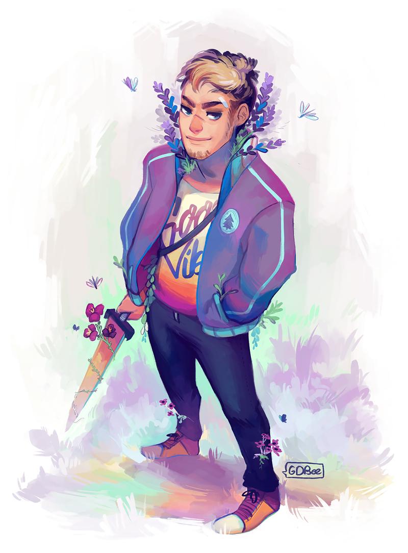 Lavender Guy