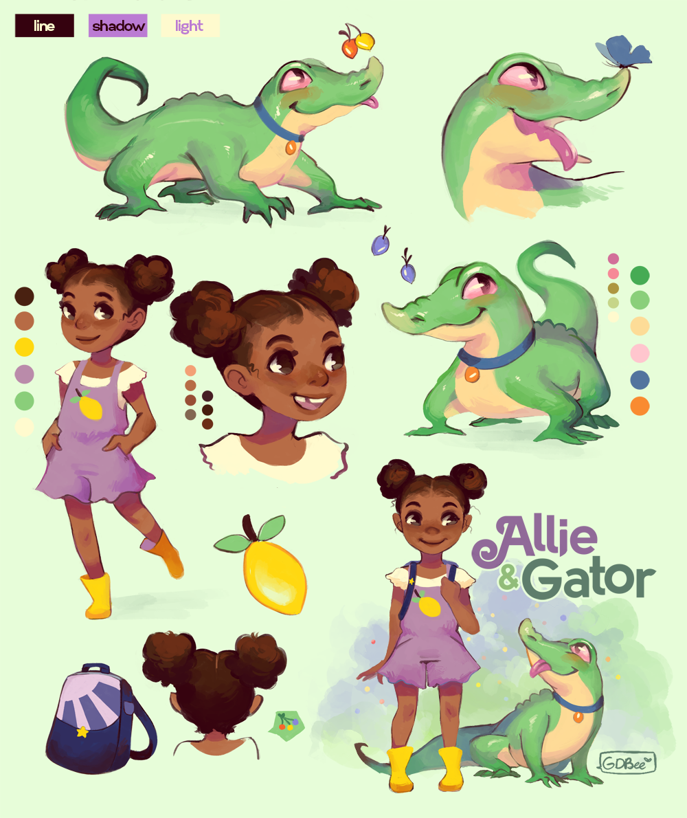 Allie & Gator Concepts