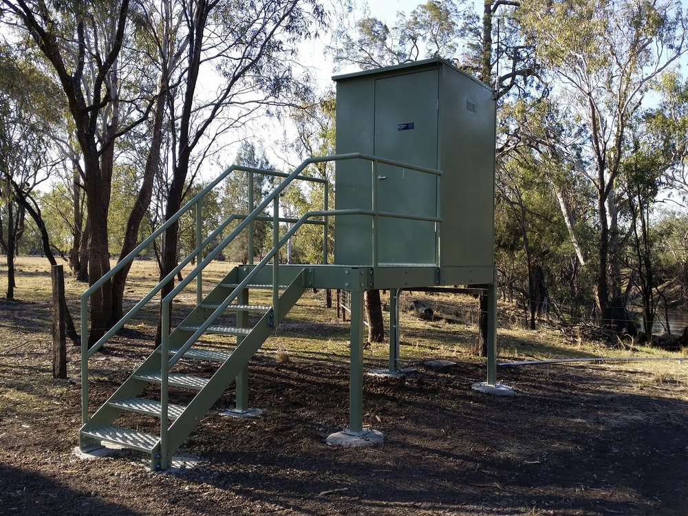 Water Quality Station for Queensland Coal Seam Gas Company