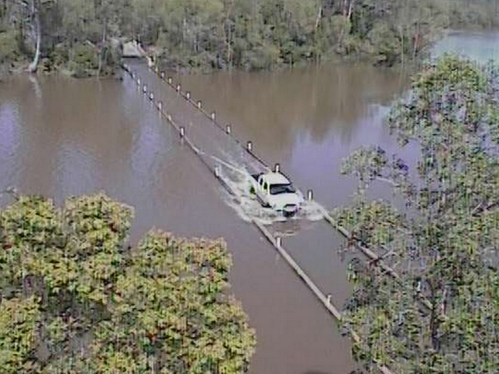 Remote Camera Systems - Flooded Roads