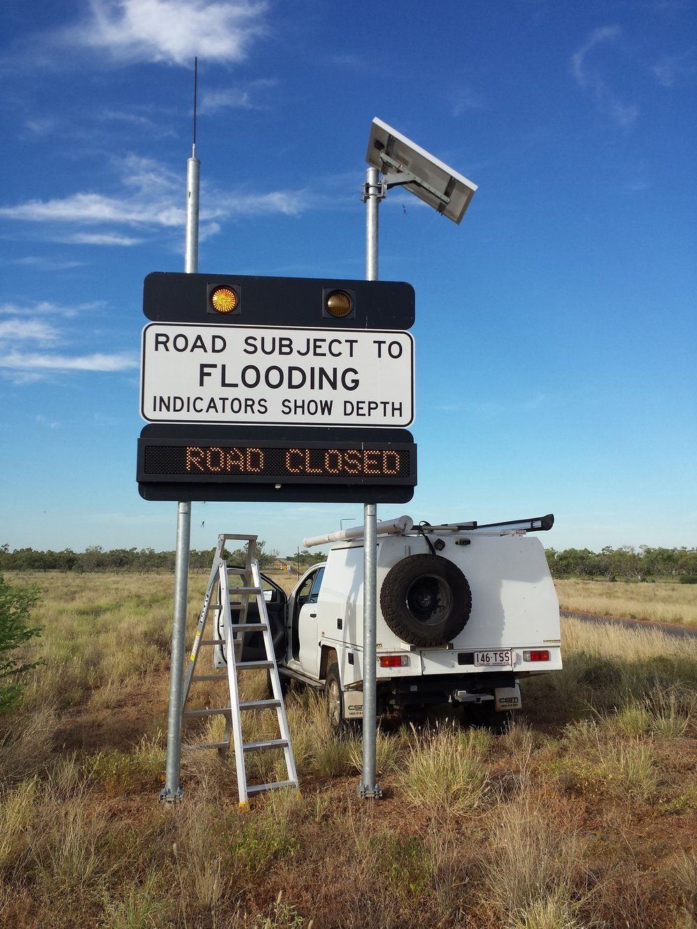 Flooded Road Warning Systems