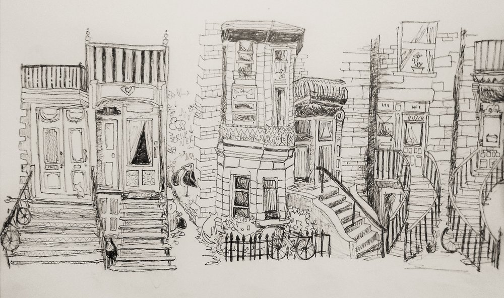 montreal street drawing.JPG