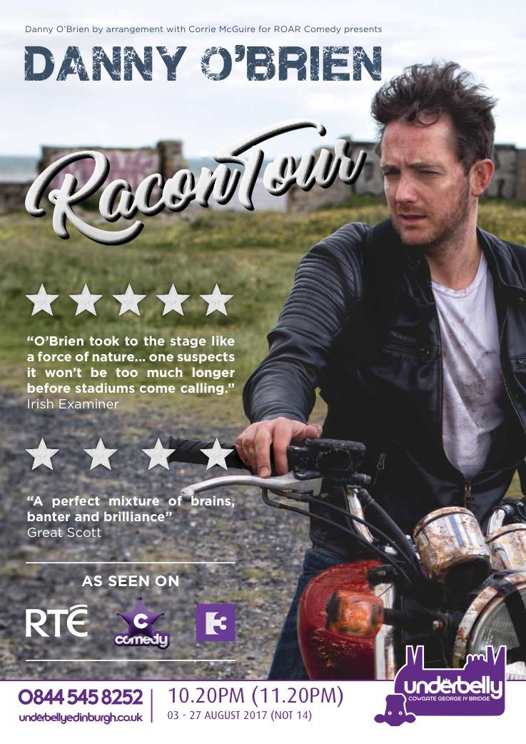 RaconTour debut's at The Edinburgh Fringe 2017!