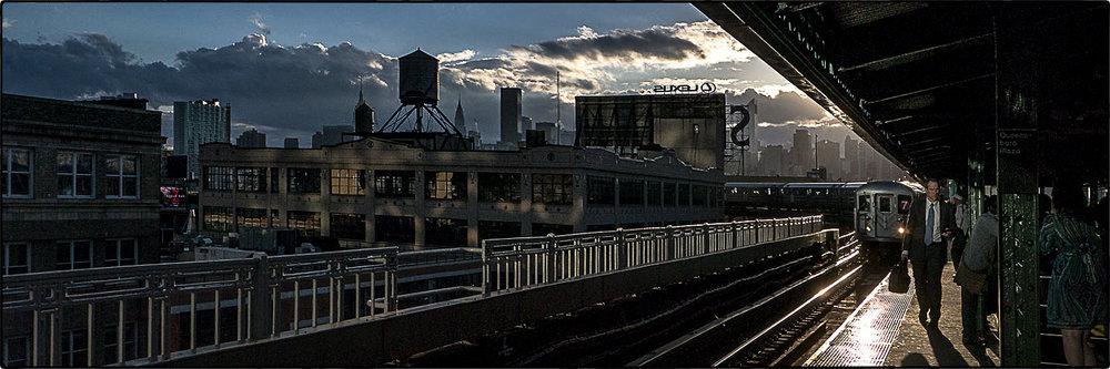 in transit -