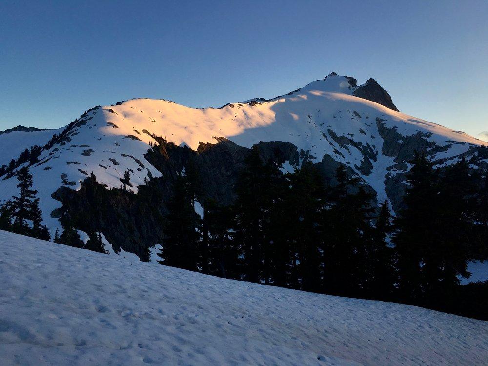 Sunset on Snowking