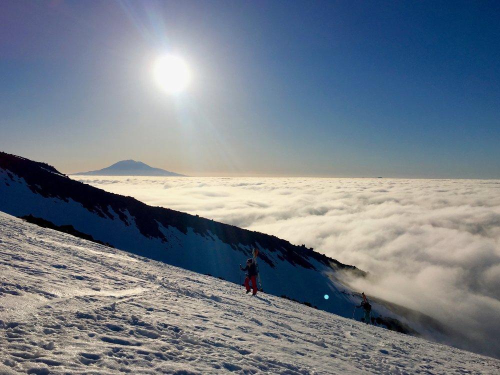 Sunrise and Mount Adams