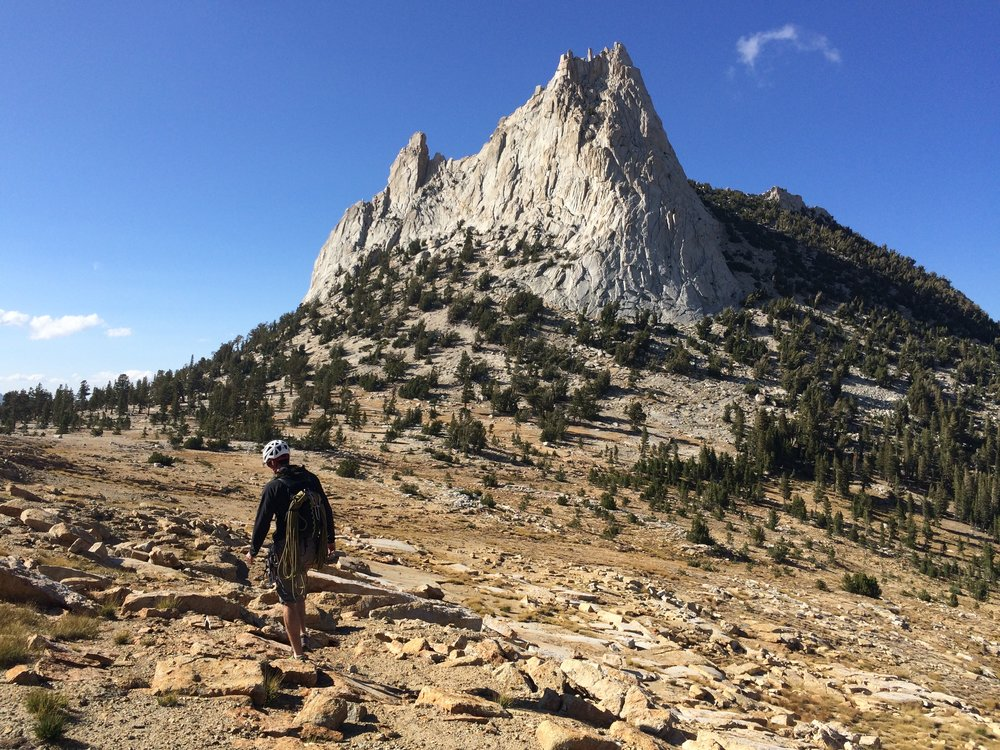 Heading for our last stop—Cathedral Peak
