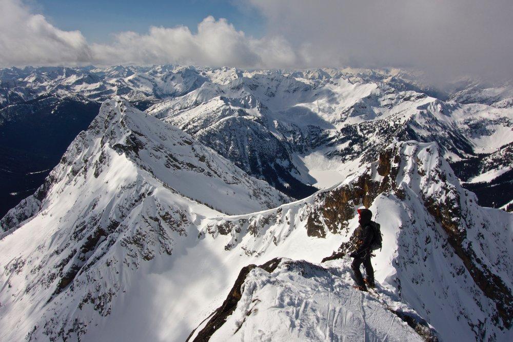 Goran on the summit