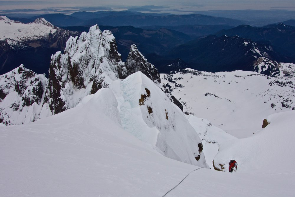 Kelsey topping out Colfax