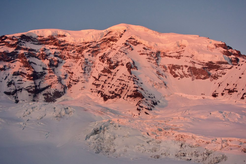 Sunrise on Liberty Ridge