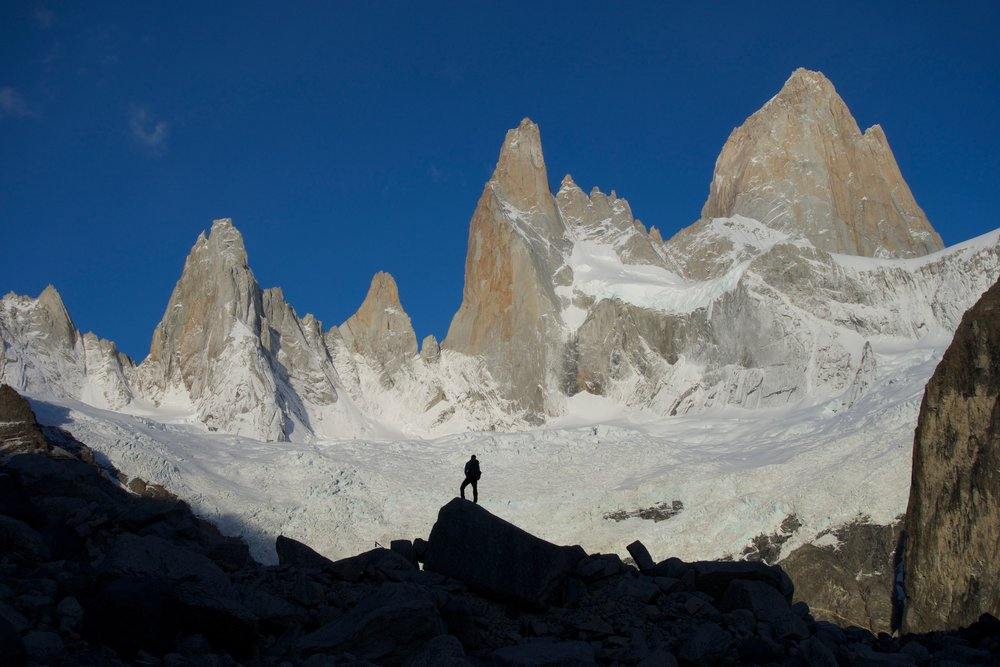Taking in the magical Patagonian ambiance
