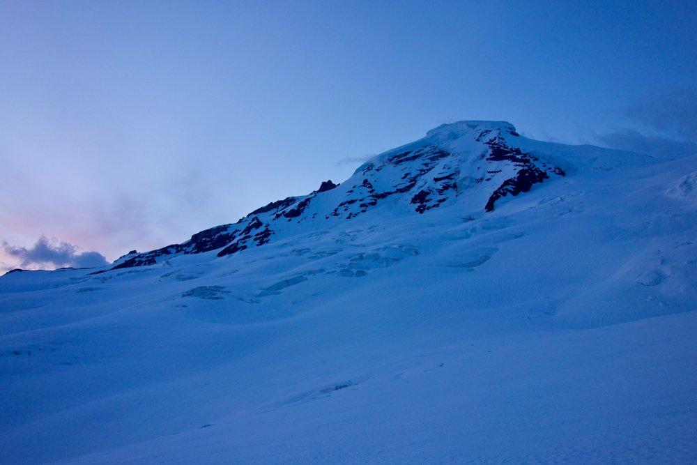 Baker's North Ridge at dawn