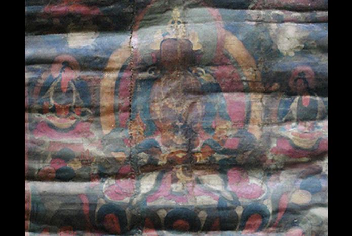 thangka-restoration-wrinkled-warped-manque-de-planeite