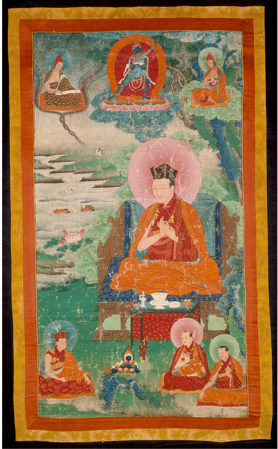 Karma Ghardri   : The Fifth Karmapa, Dezhin Shegpa (1384-1415).  LACMA.
