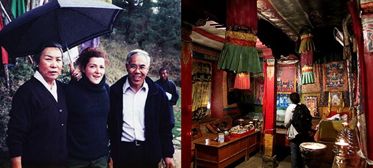 Au Bhoutan, rencontre avec ; Jetsun Pema et Tempa Tsering