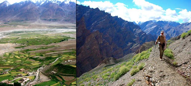 A travers le Zanskar , de cols en cols