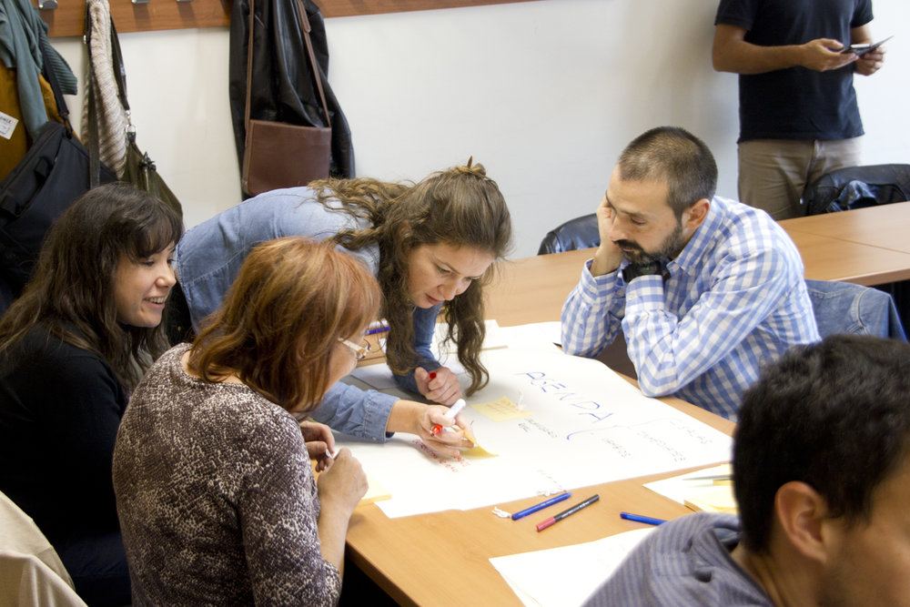 Training the corporate problem resolution through creativity -