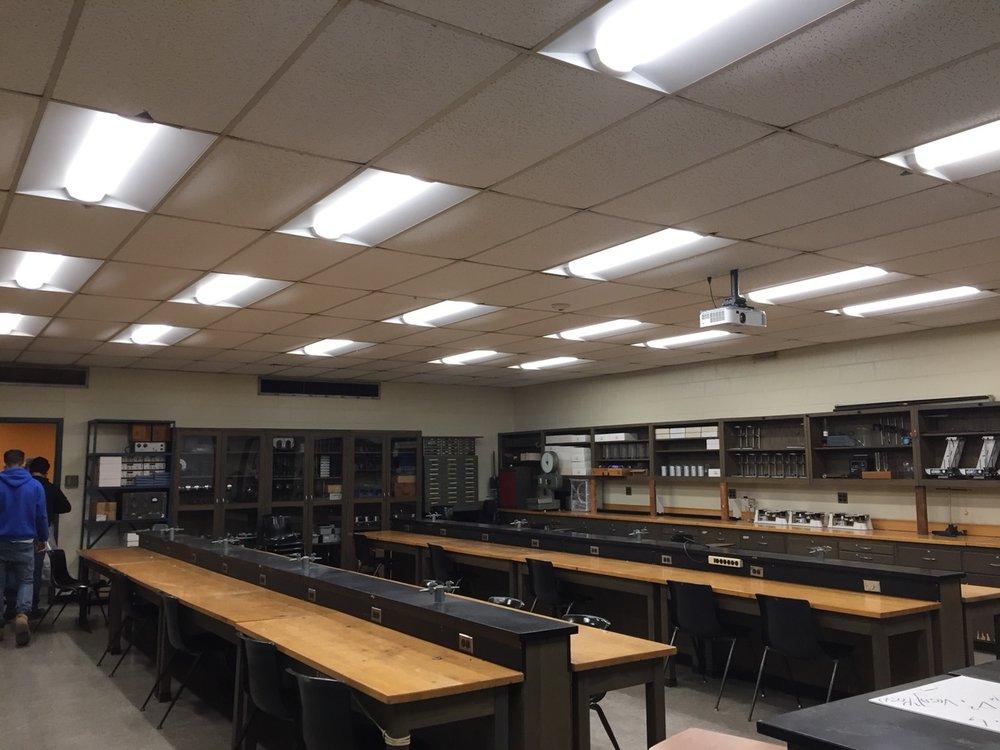 Bloomfield College LED Lighting Upgrade