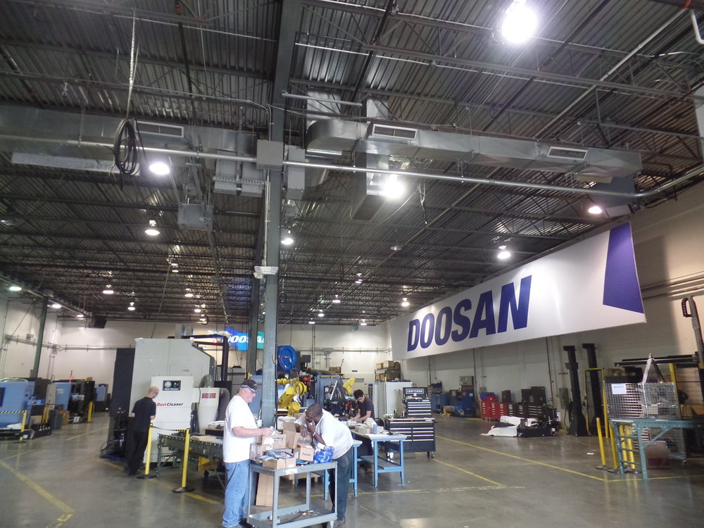 Doosan LED Lighting Retrofit - Albright Energy Solutions -Albright Electric - Mahwah NJ (1).JPG