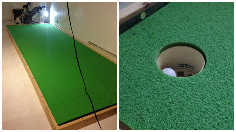 How to Build an Indoor Putting Green — Michael Little, PGA