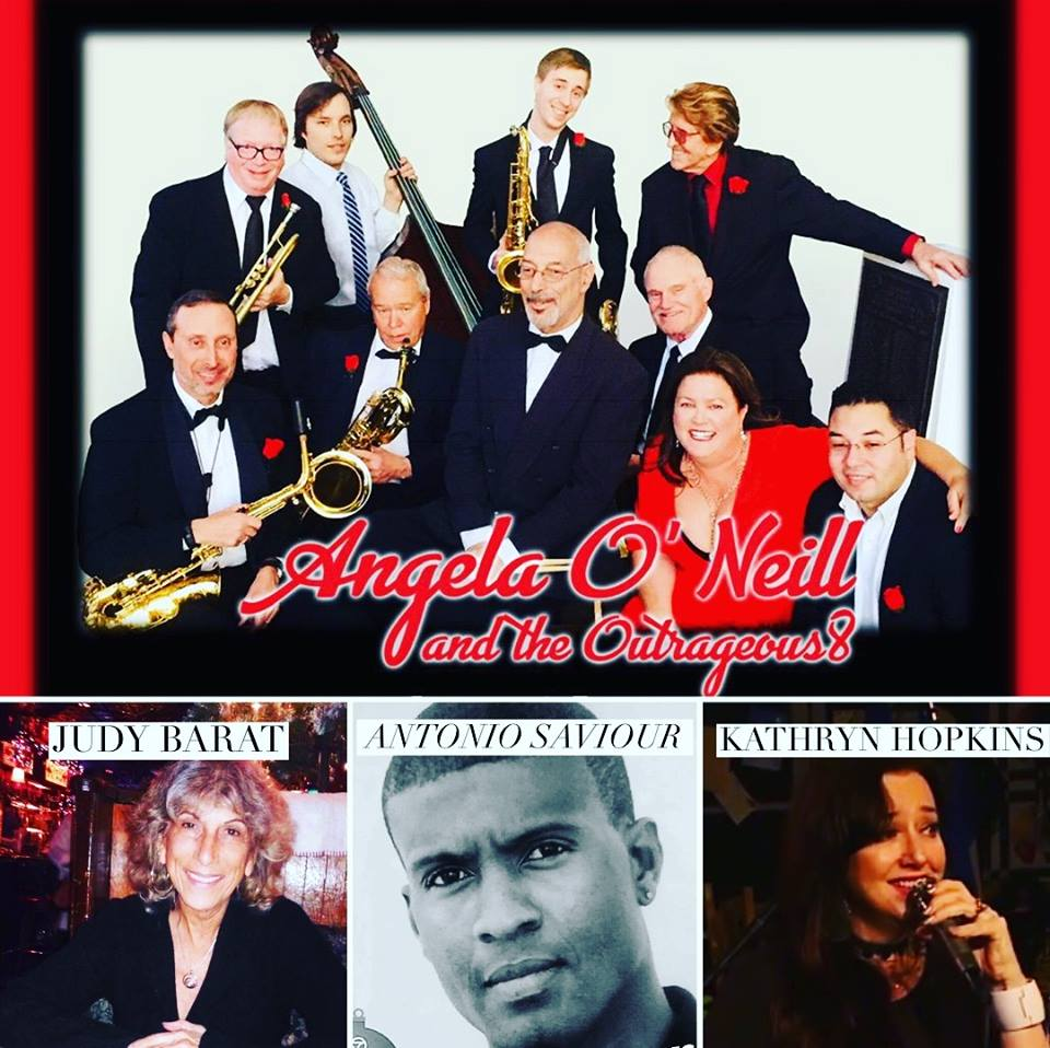 Friday Feb 15 - Valentine's Day Show at the Burbank VFW.    Special Guests: Judy Barat - renowned Los Angeles poet, Antonio Saviour - great cousin of Nat King Cole, Kathryn Hopkins - LA based singer/songwriter from downunder.