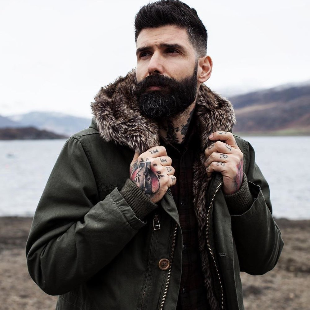 CARLOS COSTA - 210k FANSIN / SITE BIOThe Portuguese-born bearded model has gained quite a reputation for his style, tattoos, and distinct fashion sense. But he'd be the first one to tell you that his career trajectory came as a total surprise gaining a huge instagram following sharing his life with over 200k fans.