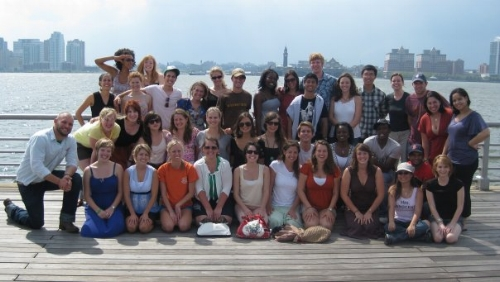 All of us from summer of 2009! Amazing group of human beings. They are still working hard to change the world!