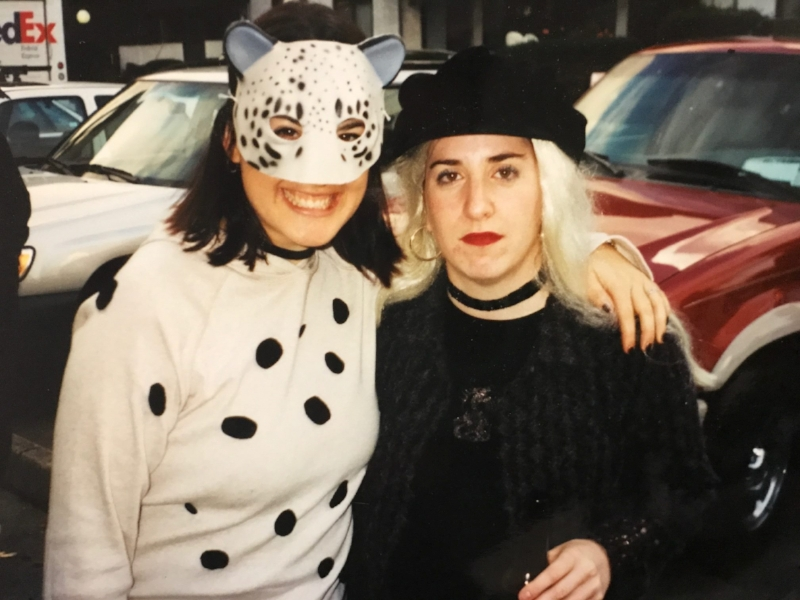 I dressed as Le Femme Nikita one Halloween because she was a badass that never let anymore mess with her