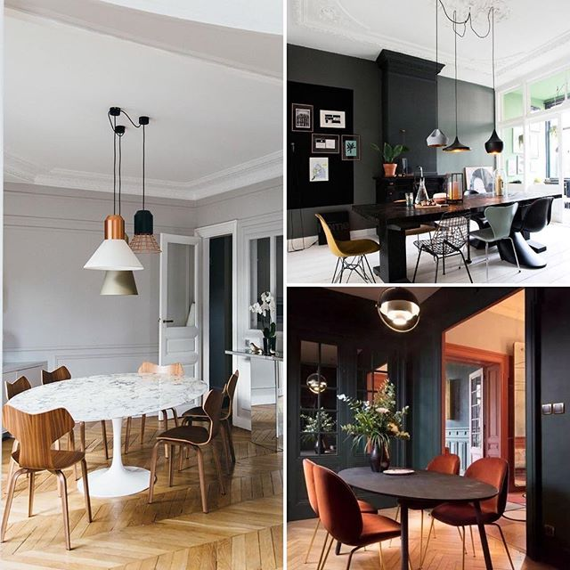 Beautifully simple dining room designs with a scandi edge. The use of natural palettes and materials make them effortlessly stylish 👌🏻 Happy Monday inspo ☺️ #interiordesign #design #interior_design #interiordesigner #interiordecorating #diningroomdecor #diningroom #diningroomlighting #diningchairs #diningtable images via Pinterest