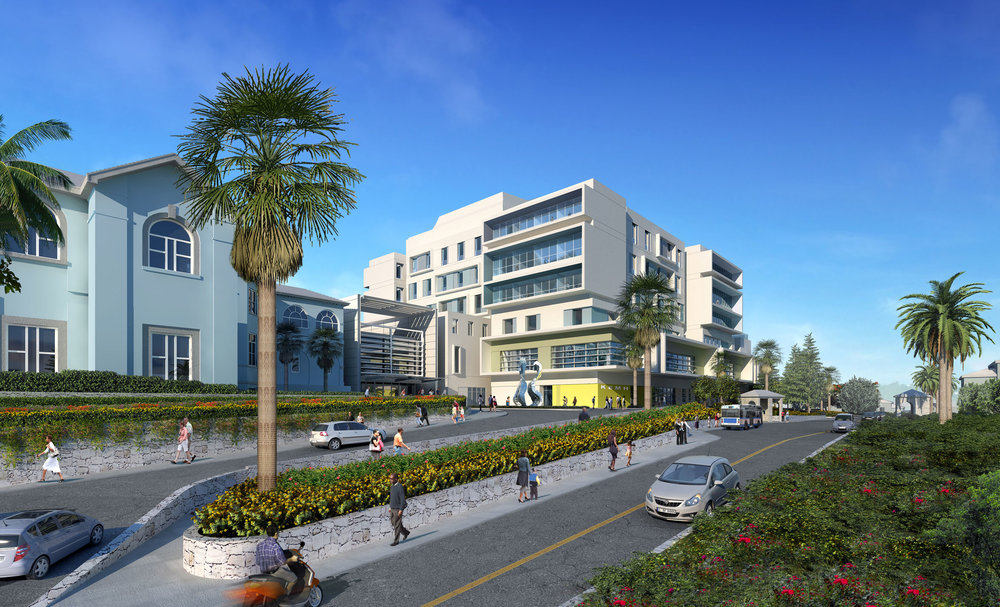 King Edward Memorial Hospital - Proposed Streetview