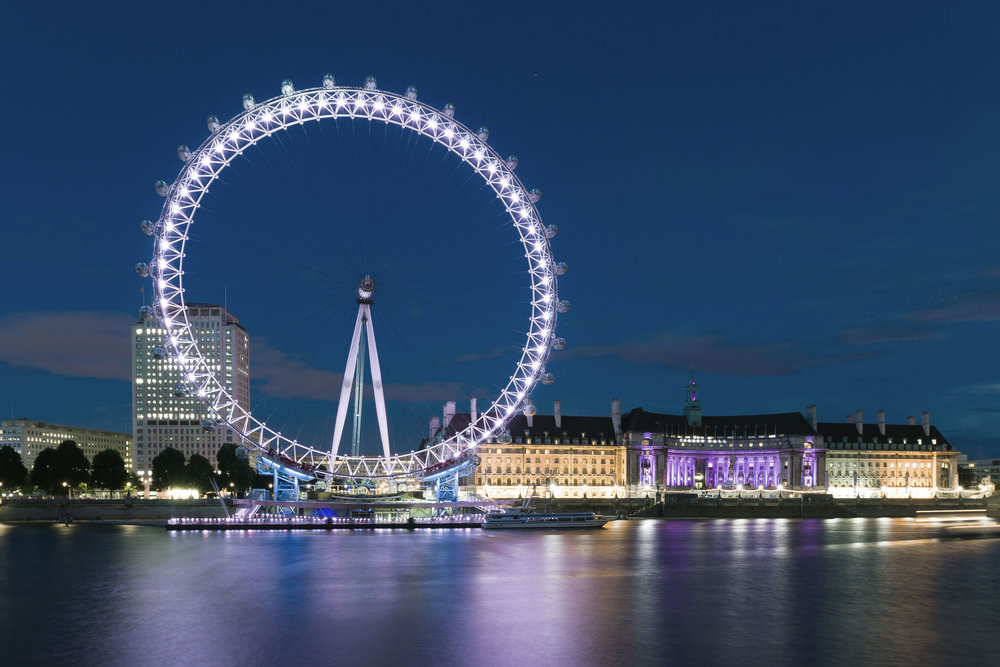 Find us right next to the London Eye