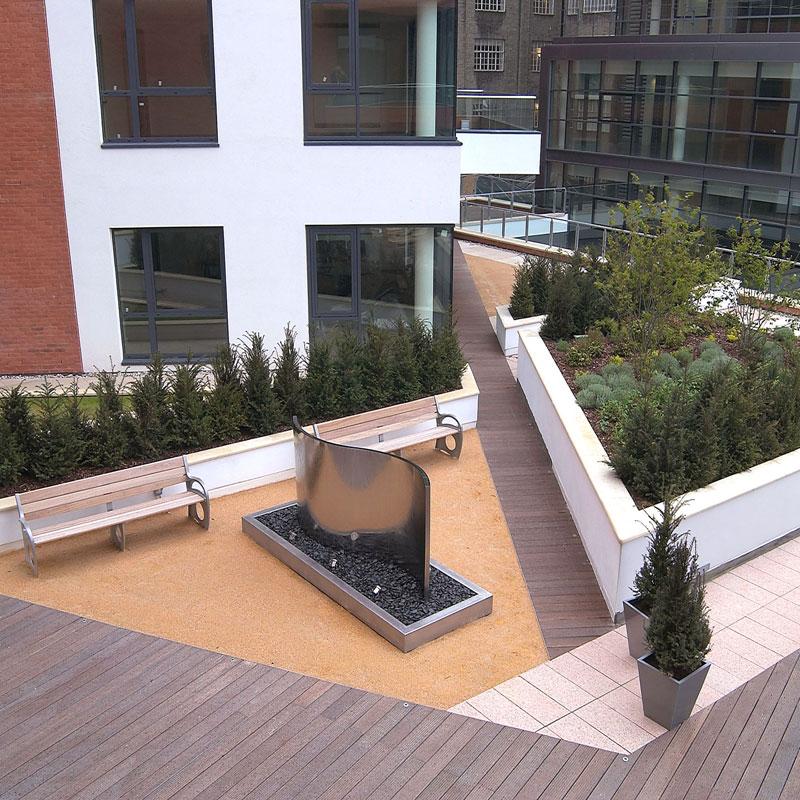 Harrods Rooftop Garden
