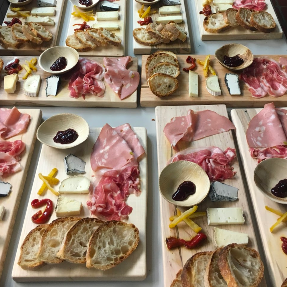 Upper West -  An intimate expo-style counter for wine, cheese & charcuterie, plus demos & tastings by guest chefs.